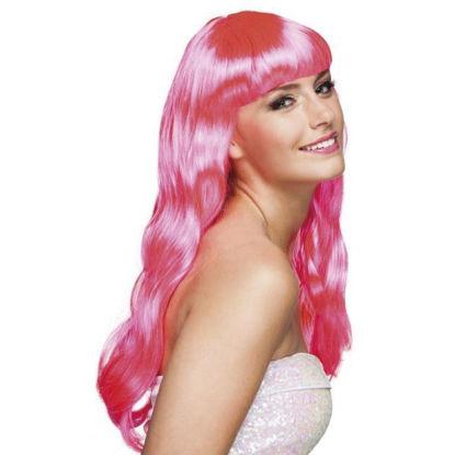 bola85870-peluca-fucsia-chique-larga-c-flequillo-85870