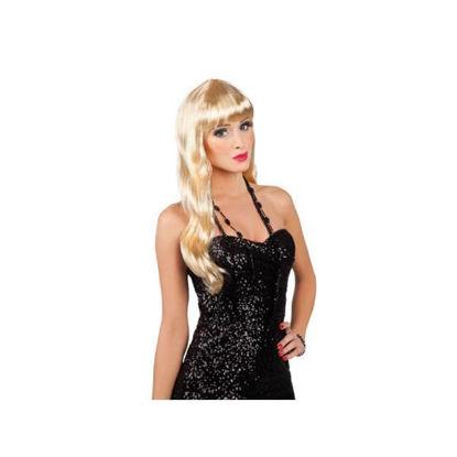bola85866-peluca-rubia-chique-larga-c-flequillo-85866