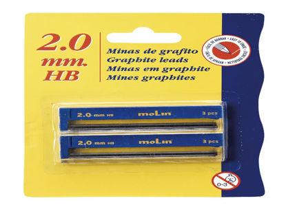 molicm3900220-tubo-minas-2mm-cm390-02-20