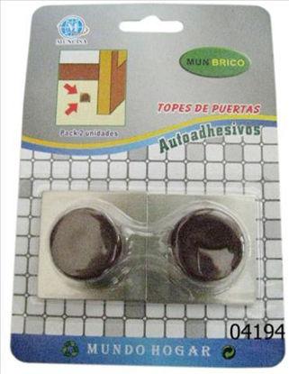 weay180020002-tope-puerta-adhesivo-marron-base-metal-2u-