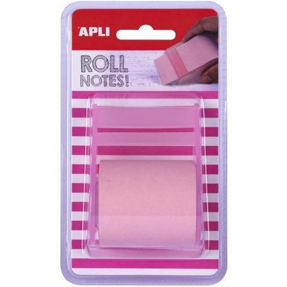 apli18192-rollo-dispensador-nota-adhesiva-50mmx8m-color-rosa-pastel