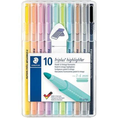 stae362csb10-marcador-fluorescente-triangular-10u-1-4mm-multicolor-delgado-tamano-unico