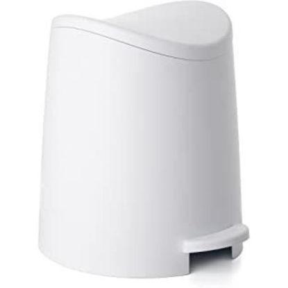 tata4470001-cubo-bano-3l-standard-blanco-4470001
